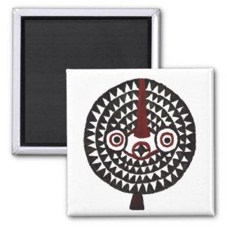 Sun African Tribal Masks_Art Gift Fridge Magnets
