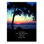 Sun Always Rises Postcard