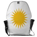 Sun amarillo bolsas de mensajeria