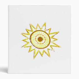 """Sun amarillo en recorte del Grunge de las luces Carpeta 1"""""""