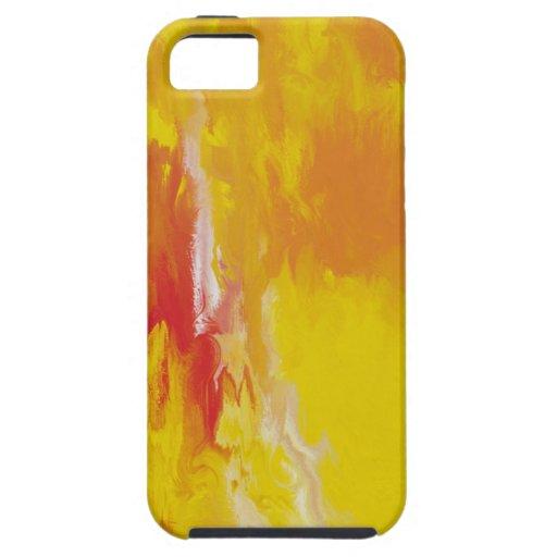 Sun amarillo limón iPhone 5 Case-Mate protector