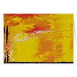 Sun amarillo limón tarjetas