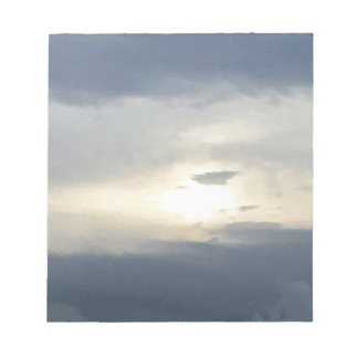 Sun and Clouds Notepad