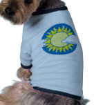 Sun And Clouds Pet Tshirt