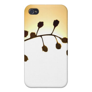 sun and flower iPhone 4/4S case