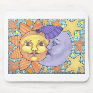 Sun and Moon 1 Mouse Pad