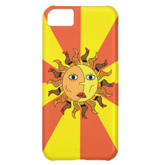 Sun and Moon Abstract iPhone 5 Case