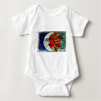 Sun and Moon Baby Bodysuit