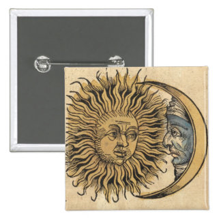 Sun and Moon Pin