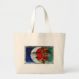 Sun and Moon Canvas Bags
