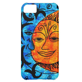 Sun and Moon Cover For iPhone 5C