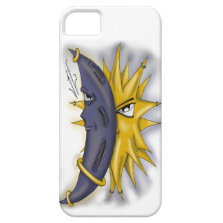 Sun and Moon iPhone 5/5S Covers