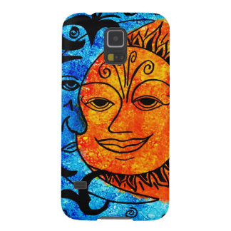 Sun and Moon Galaxy S5 Cover