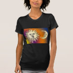 Sun and Moon Colorful T-shirt