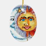 Sun and Moon Design Ornament