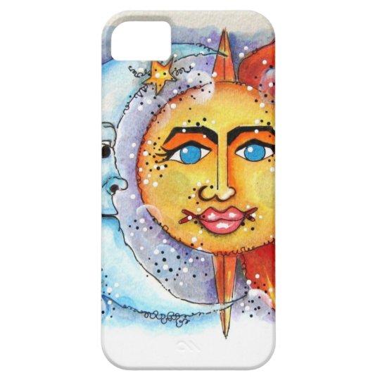 Sun and Moon Design Phone Case