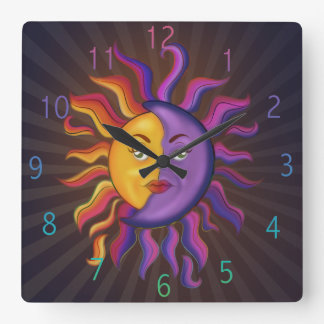 Moon Magic Wall Clocks Zazzle