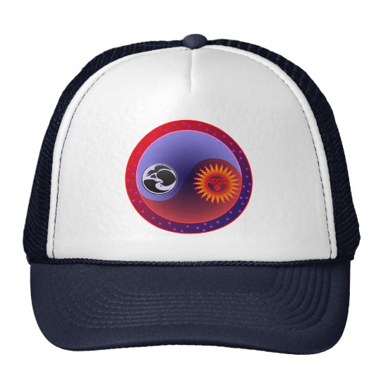 Sun and Moon in Balance Trucker Hat