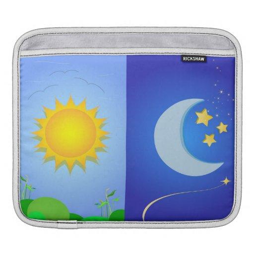 sun and moon iPad sleeves