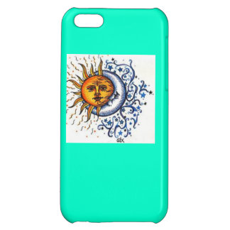 Sun and Moon iPhone 5C Covers