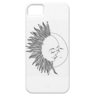 sun and moon iPhone SE/5/5s case