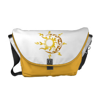 sun and moon courier bags