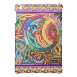 Sun and Moon Mexican String Art iPad Case