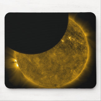 Sun and Moon Mouse Pad