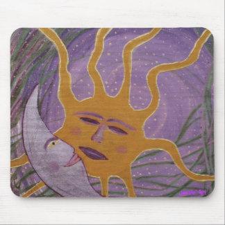 Sun and Moon Mousepad
