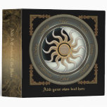 "Sun and Moon Pagan Wheel 2"" Binder"