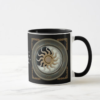 Sun and Moon Pagan Wheel Personalized Mugs