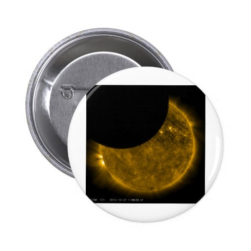 Sun and Moon Pinback Buttons