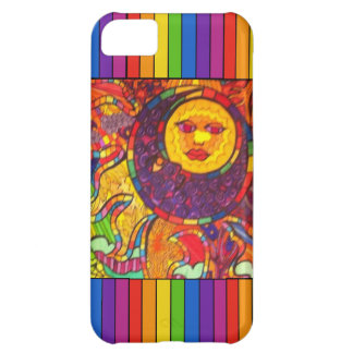 Sun and Moon Rainbow iPhone Case iPhone 5C Cases