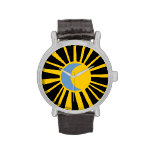 sun and moon wrist watches