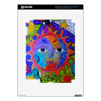 SUN AND MOON/YIN AND YANG SKIN FOR iPad 3