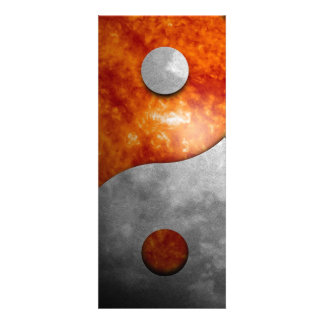 Sun and Moon Yin and Yang Symbol Announcement