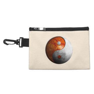 Sun and Moon Yin Yang Accessory Bag