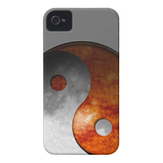 Sun and Moon Yin Yang Case-Mate iPhone 4 Cases