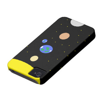 Sun and planets iPhone 4 Case-Mate case