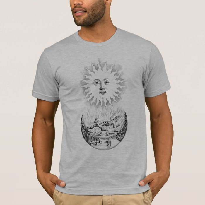 Sun and Salamander Moon T-Shirt