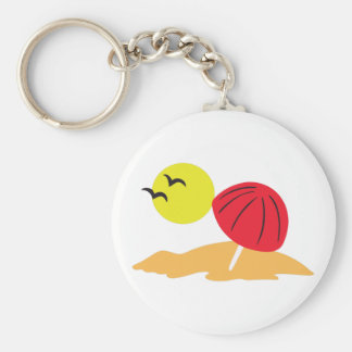 SUN AND SAND KEY CHAINS