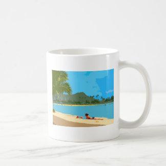Sun and Sand! Coffee Mugs