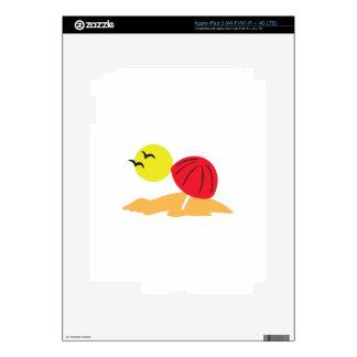 SUN AND SAND SKIN FOR iPad 3