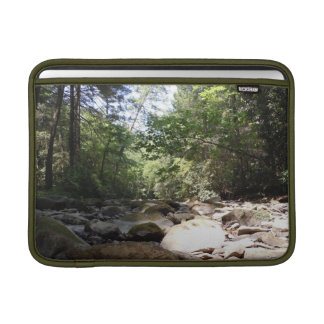 Sun and Shadow in a Creek Bed Sleeve For MacBook Air