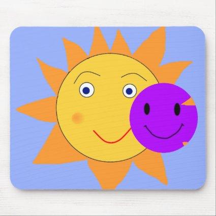 Sun and Smily Mausmat