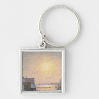 Sun and Snow, Scene from Stockholm Key Chain