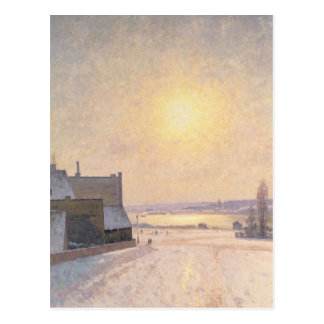 Sun and Snow, Scene from Stockholm Postcards