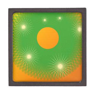 sun and star in the universe keepsake box