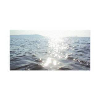 Sun and the Sea Canvas Print