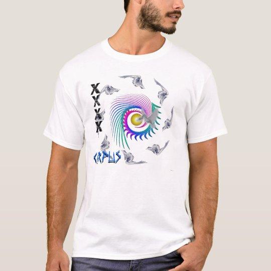 sun and waves, BirdSnake CORPUS T-Shirt